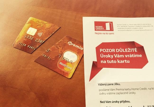 Home Credit posílá další kartu!