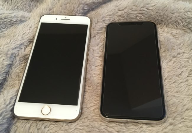 Má iPhone X větší displej než iPhone 7(6,8) Plus?